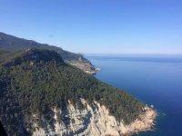 Volando sobre las montanas de Mallorca