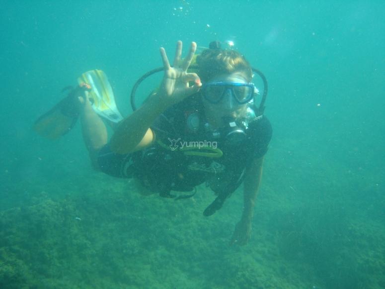 Inmersión en Cala Racó