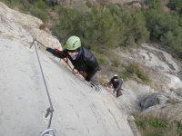 介绍西藏桥铁索攀岩