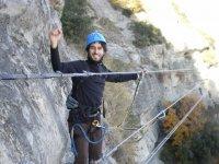 铁索攀岩练习铁索攀岩路线CEC