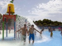 Cubo splash en Aquavera
