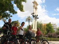 Paseo en bici por Sevilla