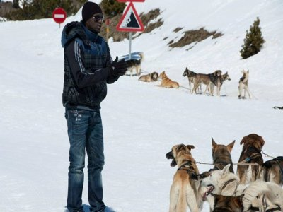 Vallnord Andorra Mushing