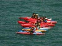 独木舟和探险游在独木舟