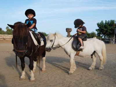 1h pony ride for kids in Sitges