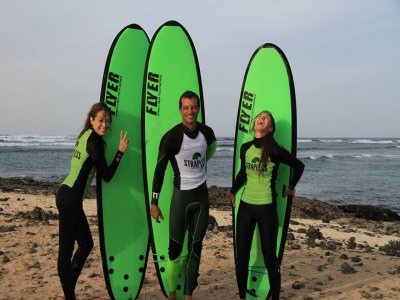 Strapless Kite and Surf School Surf