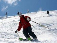 Actividad de esqui
