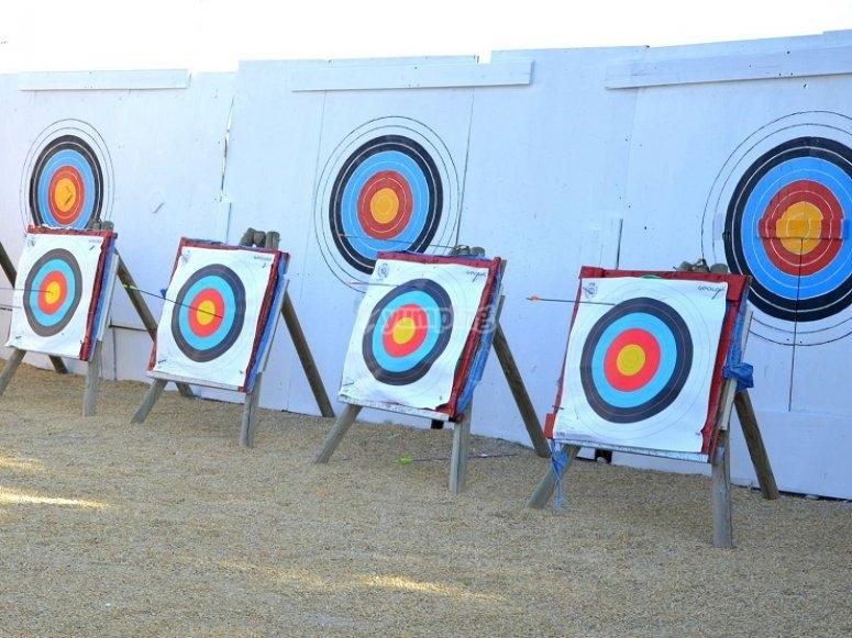 Obiettivi per tiro con l'arco