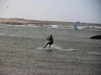avanzando con el kite