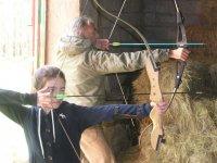 tiro con arco tambien para los pequeños