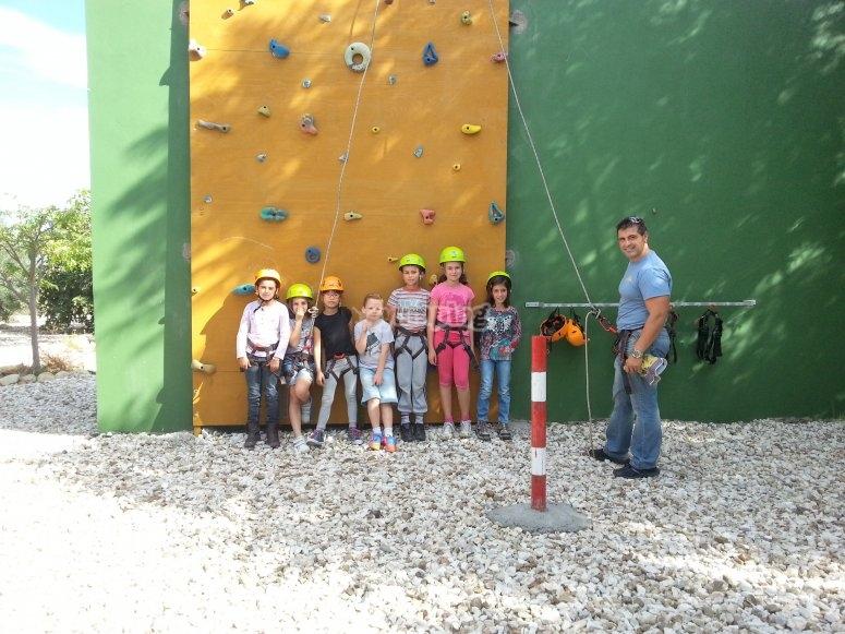 Birthday with climbing