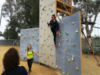 Climbing wall activity for children & adults