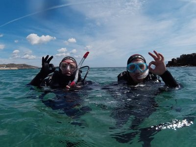 Tuition for Initiatory Diving in PADI Cádiz