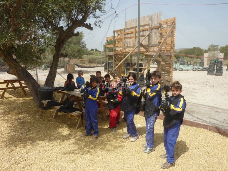 Paintball infantil