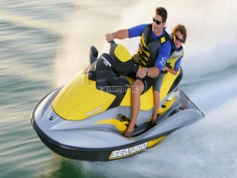 Motos de agua en Islas Margarita