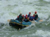 Raftring白水急流泛舟