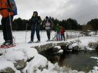 Paseo con Raquetas de nieve en Gredos