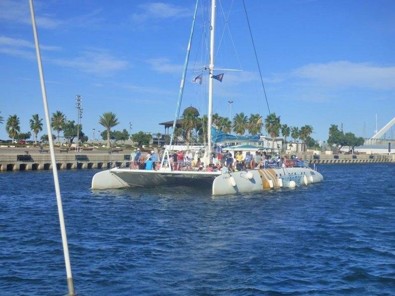 Paseo en barco en Calpe
