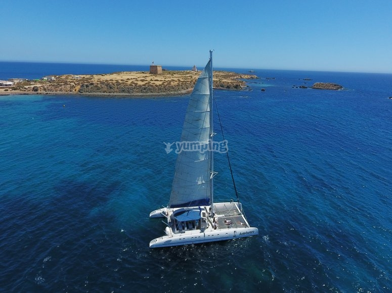 Paseo en barco en la Isla de Tabarca