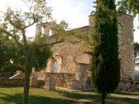 Castillo medieval en el Penedes