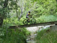 骑自行车从家里骑自行车穿越路径