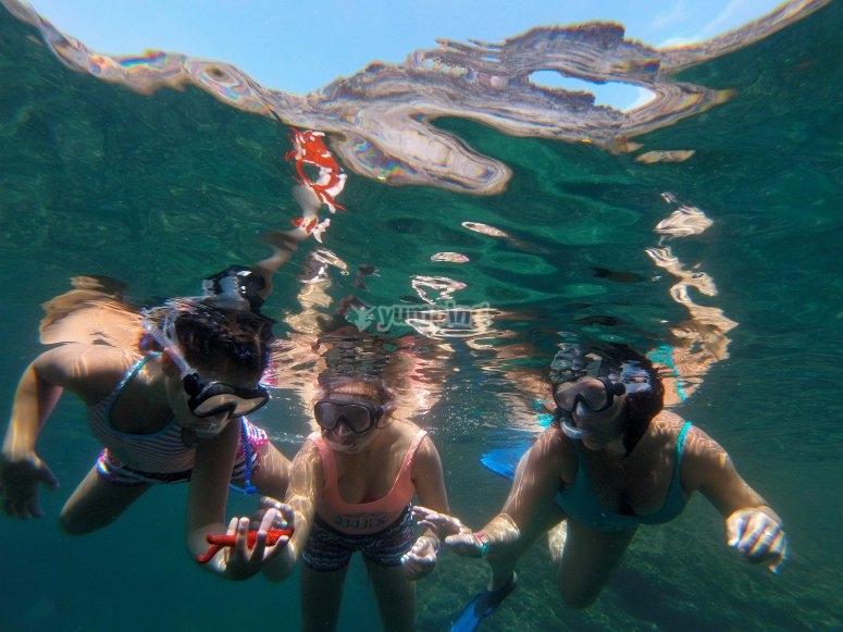 Snorkel Playa de Calblanque