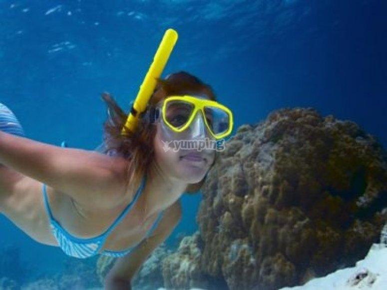 Snorkel en la Región de Murcia
