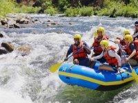 Aguas bravas en el Ebro