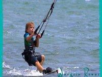 从年轻时开始kitesurf