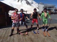 Antes de esquiar
