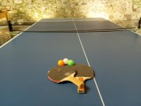 Deportes indoor con ping pong