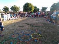 Juegos con aros de colores