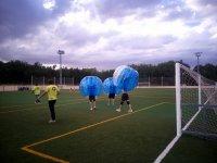 Tiempo para el futbol burbuja