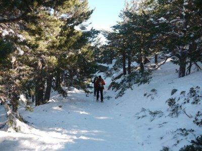 Raquetas de nieve y SPA en Navacerrada