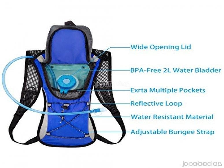 Paquete de hidratación - Foto de jacobed.es