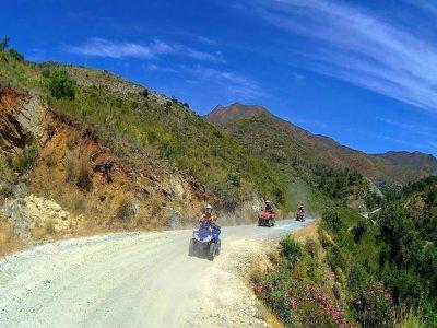 Ruta en quad biplaza en bosque y montañas 3 horas