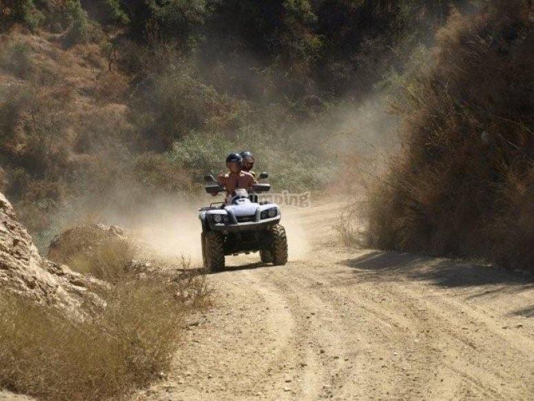 rutas en quad benalmadena