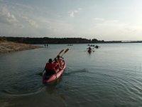 Route de kayak à travers Argamasilla