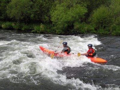 Discesa del fiume in kayak a Vila de Cruces