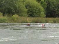 Hidrospeed in the river