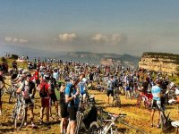 Concentracion de bicis en Cordoba