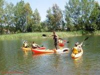标志Cabañeros独木舟在Bullaque