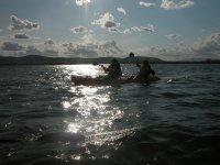 Atardecer desde el mar