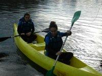 Aprendiendo a usar el kayak