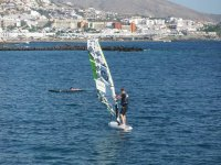Windsurfing from initiation