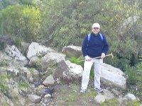 Senderista en el monte