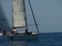 Sailboat of the school
