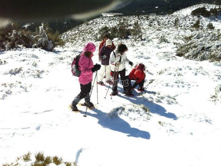 Curso raquetas de nieve