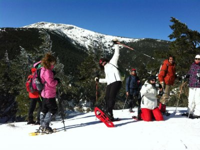 Advanced Snowshoeing Course in Nevafría