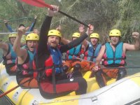 4 h white water rafting in Albacete